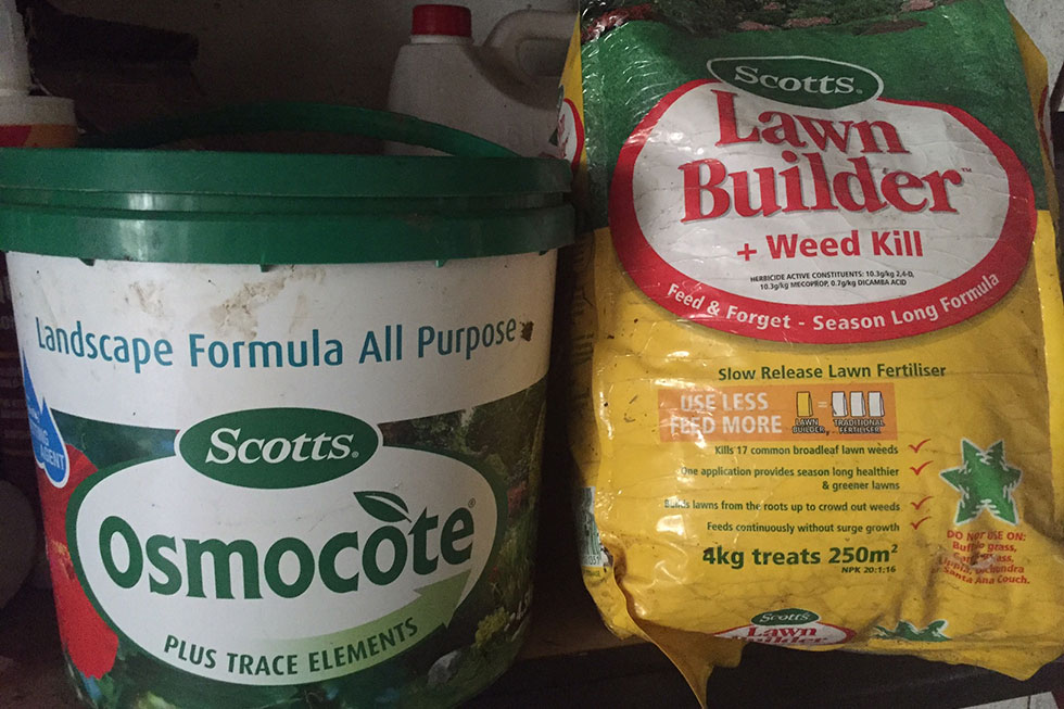 Poisons & weed killers