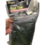 Ties Rod 125mm Black Ann 24502 pk200