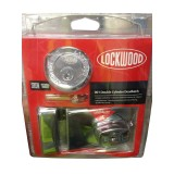 Door Deadlock 001 Chrome 1K1CPDP pk1