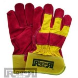 Gloves Riggers Leather Mens All Size pk1