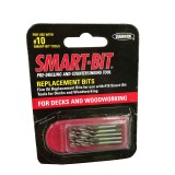 Bit Wood Smart 10G Drill Replacement pk5