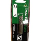 Bit Metal/Wood/Plastic Trade Pack High Speed 2.5mm pk10