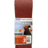 Belt Sanding Heavy Duty  75x533mm P 80 Medium Step 3 pk2