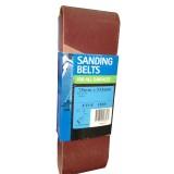 Belt Sanding Heavy Duty  75x533mm P120 Fine Step 4 pk2
