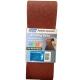 Belt Sanding Heavy Duty 100x610mm P 40 Very Coarse Step 1 pk2