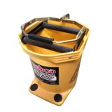 Bucket 16L Mop Wood Mouth Yellow 37024 pk1