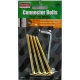Bolt JCB E/Brass  50mm Key 4mm 4 pieces O913150 pk1