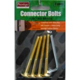 Bolt JCB E/Brass  70mm Key 4mm 4 pieces O913198 pk1