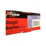 Brads ND 14g Galvanised 62mm with 2 Fuel Cells B20645 bx2000