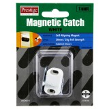 Catch Magnetic Plastic White 30mm Cd1 WCD0010 pk1