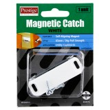 Catch Magnetic Plastic White 65mm Cd1 WCD0012 pk1