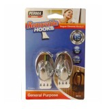 Hook Removable Vogue Chrome #812 pk2