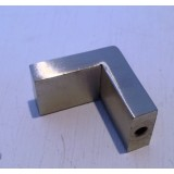 Door Knob Rectangle 20mm BRSH Stainless Steel O962668 pk1