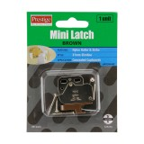 Door Latch Mini Tip White 37x28x12mm WCT0000 pk1