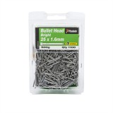 Nail Bugle Head Bright  25x1.60mm 500g N906242 pk1