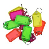 Key-Ring with FluroTag Assorted Colour pk1