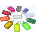 Key-Ring with Tag Assorted Colour Kevron 70101 pk1