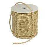 Rope Sisal Spooled Natural 12mm RPA3012 rl80m