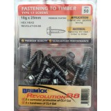 Screw B8 10gx 25mm Hex Head No Seal Roofing SDT STHC8100250 bx50