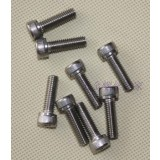 Screw Zinc Plated M 6x25 Hex Head Cap Head bx6