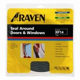 Window Seal Foam  9x6mmx5m Grey CM145GR pk1