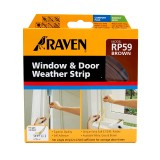 Window Seal Rubber 5m Brown CM485BR pk1