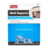 Shelf Support Clear  Plastic Metal Pin Cd4 WSD0002 pk1