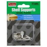 Shelf Support Flat NP 5mm O915741 pk12