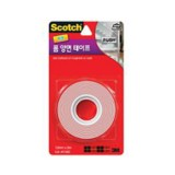 Tape Double Sided External 12mmx2m 72604 Tic pk1