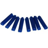 Wallplug 8x 35mm Blue Frame25 PWPMF080354 bx 25