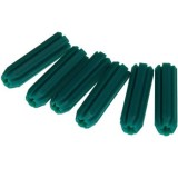 Wallplug 7x 25mm Green Frame25 PWPMF070254 bx 20