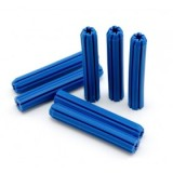 "Wallplug Blue 5/16""x 25mm pk1"