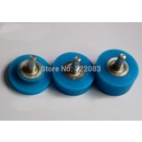 Wheel Flat Blue 20mm S911 pk2