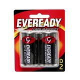 Battery Black Super Heavy Duty D 1250bp2 pk2