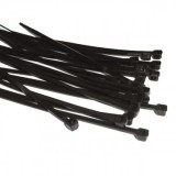 Cable Tie 250x7.2mm Black CTB240 pk100