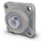 Mounting Block Flange White D137WE pk1
