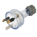 Plug Top Standard 10a Clear  CD100LCL pk1