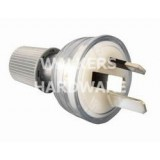 Plug Top Standard 15a Clear  CD100L15CL pk1