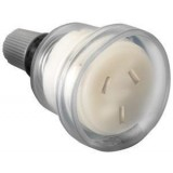Socket Extension Standard 15a Clear  CD7P15CL pk1