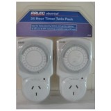 Timer Twin Pack 24hr D809/1TWIN-1 pk1