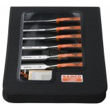 Chisel Set 6 pieces Zip Case 424P-S6-ZC pk1