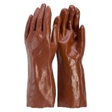 Gloves Chemical PVC 35cm 1D35 pk1