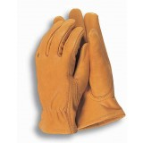 Gloves Mens Work Premium Leather Ilbr pk1