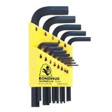 Hex Key  9 pieces with Holder Metric Long Arm 12199 pk1
