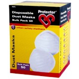 Mask Dust Disposable RMP3 pk50