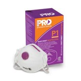 Respirator Disposable P1 Box 20 with Valve PC301 bx 20