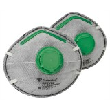 Respirator Disposable Carbon Multi Mate RP2VR2 pk2