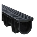 Channel and Grate 100x100 x3m Black Easydrain 83390 pk1