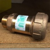 """Pipe   3/4'' -1/2"""" Coupling Copper Straight Reducing pk1"""