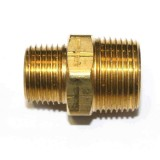 Hex Nipple 1/2'' Brass pk1